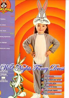 FANCY DRESS ~ BOY/GIRL BUGS BUNNY INFANT AGE 6-12 MONTH